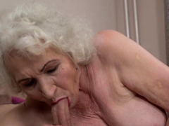 Cock sucking pensioner