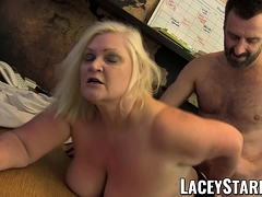 LACEYSTARR - Doctor GILF tongues Pascal White cum after sex