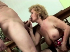 Granny gets down and dirty with stud