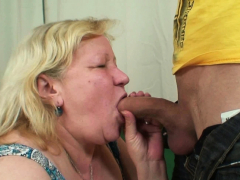 Wife finds him fucking her aged plump mother!