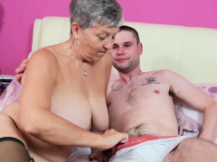 AgedLovE Got Used Stiff by Mature to get the Loan