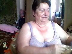 massive grandmother  on skype