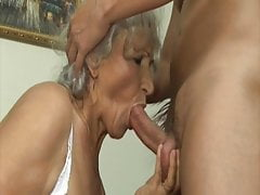 Grandma seduced by lewd stepson