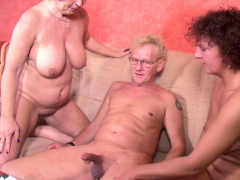 GRANDPA Screw  GERMAN OLD WOMAN IN THREESOME TABOO