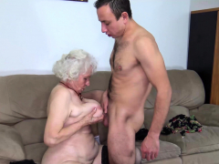 chubby hairy older mom harsh fucked
