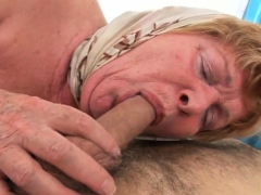 Granny was feeling  naughty so she wanted to fuck