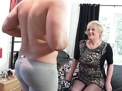 British old slut's cunt requires a new  cock every day