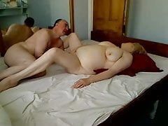 Fat mature woman romping