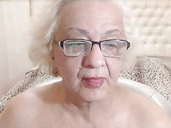 Hungarian  Granny Whore - Web cam