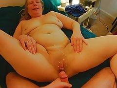 64  elderly mother in-law pussy cum
