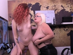 Granny doc Lacey Starr gets cunt eaten