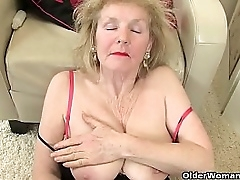 British granny Amanda Degas gives her sweet matured fanny a over-nice in the bathroom. Now available in Full HD 1080P. Honorarium video: English gilf Pearl.