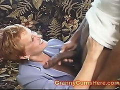 School Trainer GRANNY gets FUCKED