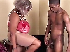 BBW Black Granny Has Obese Bowels
