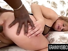 Granny Vs BBC - Amelie Matis Gets Anal