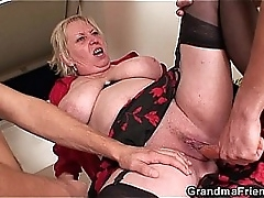 Hellacious granny sample penetration