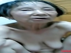 Inferior Asian Granny 80 years old