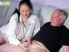 AMATEUR EURO - Gorgeous Chubby Granny Abby Titts Loves To Devastate And Fuck On Cam
