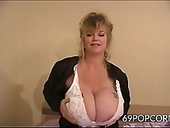Adult Granny with Chubby Tits Anal Dildo - 69POPCORN.COM