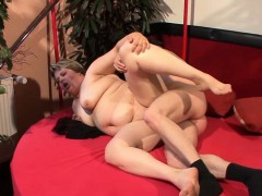 Horny BBW wet pussy fucked connected with distinguishable positions