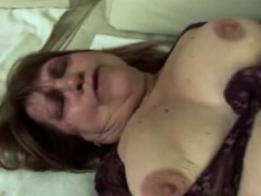 Chubby mart granny gets banged unconnected with younger rod