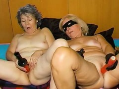 OmaHoteL Saleable Granny Nun Tries BDSM Coitus With Toy