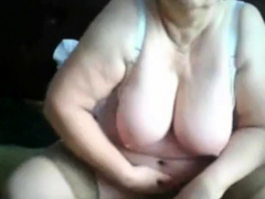 granny on webcam