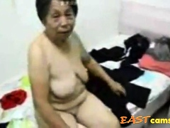 Asian Grandma get dressed check d cash in one's checks sex