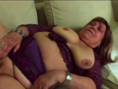Chubby GILF is possessions fucked hard