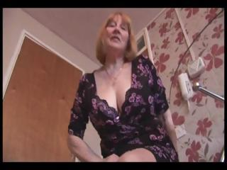 Attractive busty granny and teases exhausted enough shows retire from her hairy plump pussy