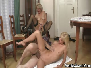 She gets lured come into possession of threesome wits his parents