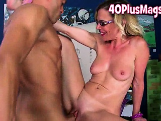 Teacher bonking horny mature
