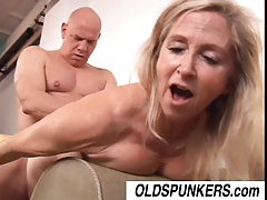 Gorgeous mature pornographic star Annabelle Brady pounded