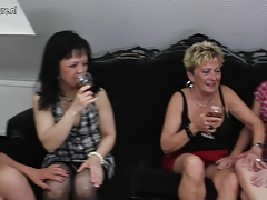 old and young lesbians gangbang