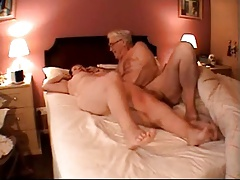 60+ couple in bed
