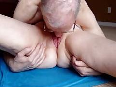 Sixty-nine work on wifes pussy