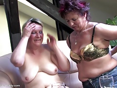 Mature sex party with moms and man