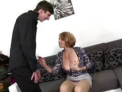 Mature whores ravage young boys