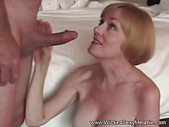 Beautiful Grannie Loves Hard Man sausage