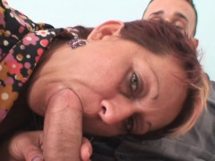 Girlfriends old mom entices her man