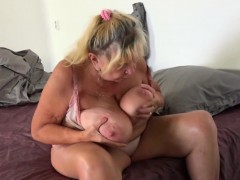 Ginger-haired Scarlet Consumes Mature Pussy
