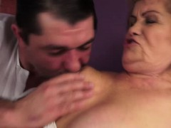 Hairy Grannie Susanne Rough Bang