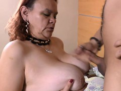 AgedLovE Red-hot Latin Grandmother Chubby Penetrating Hardcore