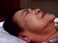 Japaneese granny, siep3 - fucking