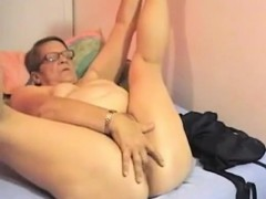 Fugly grandma is old and horny