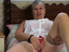 EuropeMaturE Grandmother Seductive Solo Compilation