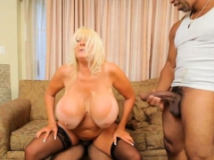 Big tits milf  and creampie