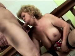 Gilf gets down and sloppy with horny love